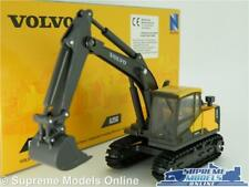 VOLVO EC140E BACKHOE MODEL EXCAVATOR DIGGER 1:50-1:64 NEW RAY CONSTRUCTION K8