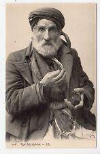 ALGERIAN JEWISH MAN: LL postcard (C22729)