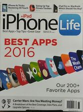iPhone Life Spring 2016 Best Apps 2016 Top Tips Great Gear iPad FREE SHIPPING sb