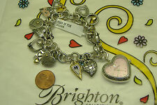 brighton RARE power of pink cancer clasp watch battery works with watch tin NWT
