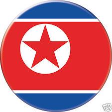 5 x sticker 5cm auto moto velo valise pc portable drapeau Rond Corée du Nord