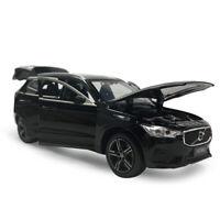 XC60 2019 SUV 1:32 Die Cast Modellauto Spielzeug Sammlung Pull Back Schwarz