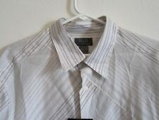 Crazy Horse Claiborne Womens Shirt Top XL Long Sleeve Button Down Striped $42.00