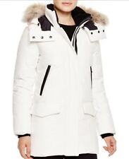 Mackage Montreal Juliann fur trim down parka coat women's size s