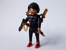 Playmobil Sobres Sorpresa Serie 14 Ref 9444 Figura Mujer Luchadora Ninja Karate