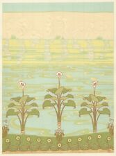 """Alexandre CHARPENTIER 1898 Lithographie originale """"Baigneuses"""" ART NOUVEAU"""