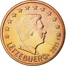[#700489] Luxemburg, 5 Euro Cent, 2011, UNC-, Copper Plated Steel, KM:77