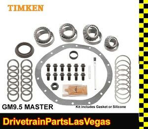 "Pro Level Timken GM Chevy 9.5"" 14 Bolt Master Bearing Rebuild Kit 1997 Older"