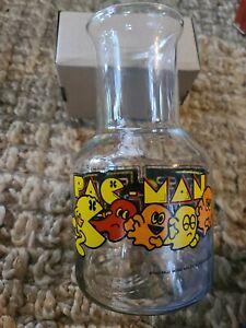 Pac-Man Beverage Carafe made of Glass 1982