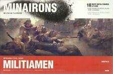Minairons Miniatures 1/72 Spanish Civil War Militia Men
