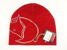 NEW RED FJALLRAVEN CALVIN WOOL HAT WARM WINTER BEANIE CAP