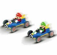 Nintendo Mario Kart Mario and Luigi Remote Control Cars - Twin Pack (6+ Years)