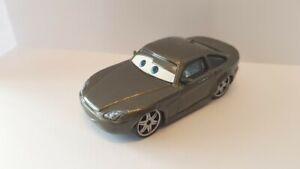 voiture Disney Pixar Cars mattel diecast  gris /beige MATTEL  7,5cm