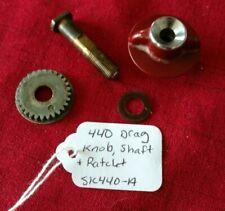 D.A.M. Dam Quick 440 Aluminum Drag Knob, Shaft & Ratchet - NICE (SK440-A)
