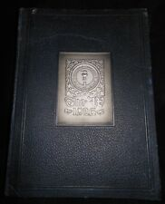 Antique 1926 WAUKEGAN Illinois Senior High School Yearbook MEMOIRS Vtg Annual #1