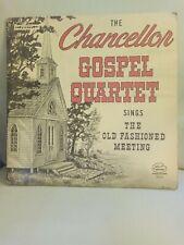The Chancellor Gospel Quartet Rare Private Press Lp