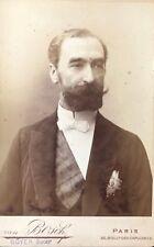 Président de la république Sadi Carnot (1837-1894) Photo albuminée Van Bosch