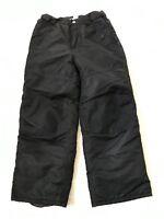 Cherokee Youth Snow Pants Sz M 8 10 Black Insulated Snowboarding Skiing Winter