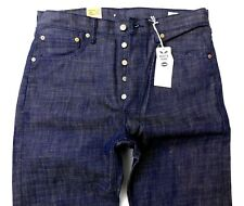 NEW LEVIS 501 STF MENS W38 L32 WHITE OAK CONE SHRINK TO FIT DENIM BLUE JEANS