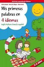 Mis primeras palabras en 4 idiomas, ingles-italiano-frances-español