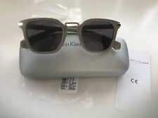 Calvin Klein Sunglasses CK Jeans Grey Preppy CKJ775S New with Case RRP £110