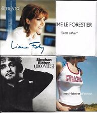 LOT 8 SINGLES VF COLLECTOR LE FORESTIER/CYRANO/FOLY/EICHER/PIERRE GEORGES/ROUX