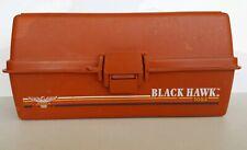 Vintage Fenwick Black Hawk 1052 Tackle Box, Orange