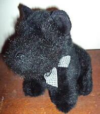 "Dog Black Scottish Terrier Rok Promotions Stuffed 9"" Plush Scotty Dog"