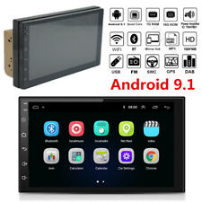 "Double Din 7"" Touch Screen Android 9.1 Car Stereo Radio GPS Navigation Wifi MP5"