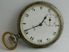orologio da tasca funziona ZENITH GRAND PRIX pocket watch working C439