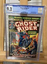 1972 Marvel Spotlight 5 CGC 9.2 1st Ghost Rider