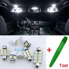 7Pcs LED Full Interior Premium Kit White Error Free SMD Bulbs Seat Leon MK2 1P