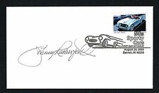 Johnny Rutherford signed autograph First Day Cover FDC Racecar Driver Indy 500