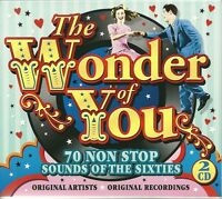 THE WONDER OF YOU - 70 NON STOP SOUNDS OF THE SIXTIES - 2 CD BOX SET