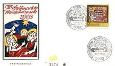 Germany 1980 FDC 1066 Noel Christmas Weihnachten