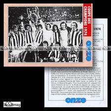 BAYERN MUNICH COUPE DES CHAMPIONS 1974 (ex-Ligue League) - Fiche Football 1999