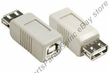 Type A~B,AB Female~F Jack USB2.0 Port/Printer/Hub/KVM/Device cable/cord Adapter