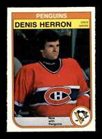 1982 O-Pee-Chee #270 Denis Herron  NM/NM+ X1640323