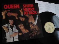 QUEEN - Sheer Heart Attack - UK EMI with Lyrics Inner - Classic Rock Vinyl EX/EX
