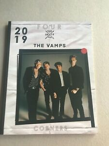 The Vamps Official Concert programme 2019 Four Corners Tour New