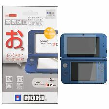 Tempered Glass Top + Bottom Screen Protector Film for Nintendo New 3DS LL XL