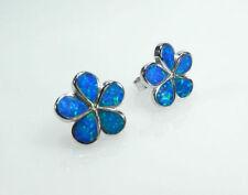 Flowers & Plants Stud Round Fine Earrings