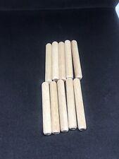 10x Ikea Wooden Dowel 101354