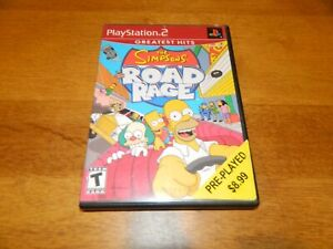 Sony Playstation 2 PS2 The Simpsons Road Rage Case ONLY