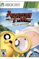 Adventure Time: Finn & Jake Investigations Xbox 360 Kids Game And Collectible
