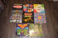 сборники 70-80х  8 LP Vinyl Виниловые пластинки