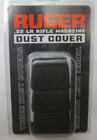 Factory RUGER 10/22 Magazine DUST COVER 3 PACK Rubber BX-15 BX-25 90403 trigger