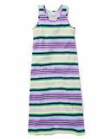 Gymboree Girls' Little Sleveless Stripe Maxi Dress Lilac Purple Size Small