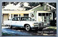"ORIGINAL 1975 FULL LINE GENERAL MOTORS BROCHURE ~ 38 PAGES ~ 5.5"" X 9"" ~ 75GM"