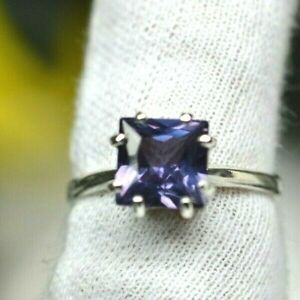 3.91 CT WOMAN S RING.RUSSIAN WELL TEST REAL LAB  ALEXANDRITE  COLOR CHANGE